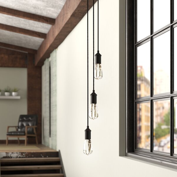 Valmy 3-Light Pendant by Langley Street