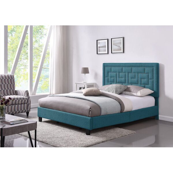 Wyckhoff Queen Upholstered Panel Bed by Mercer41