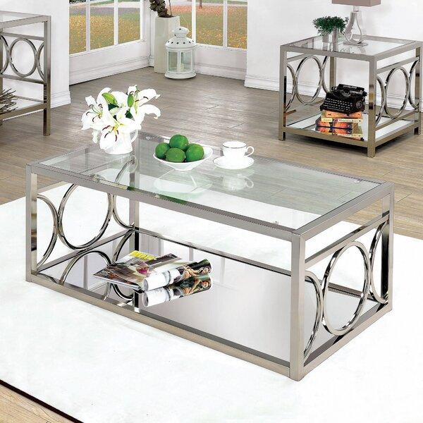 Frederika 2 Piece Coffee Table Set