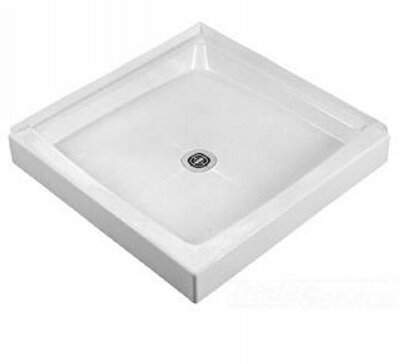 American Standard 36WLD100 Fiat Cascade Double Threshold Shower Base