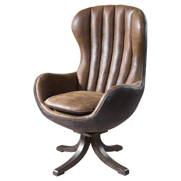 Bonview Swivel Wingback Chair by Trent Austin Design