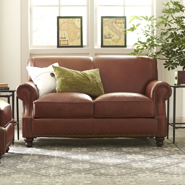 Landry Leather Loveseat