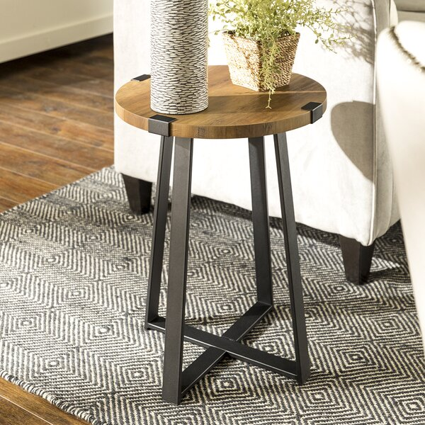 Bowden Side Table by Williston Forge