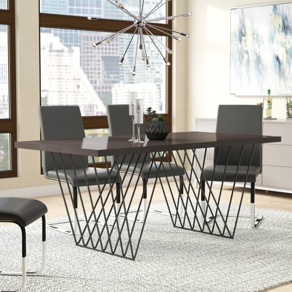 Fegley Rebar Dining Table by Wrought Studio