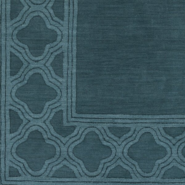 Essex Blue Area Rug by Charlton Home