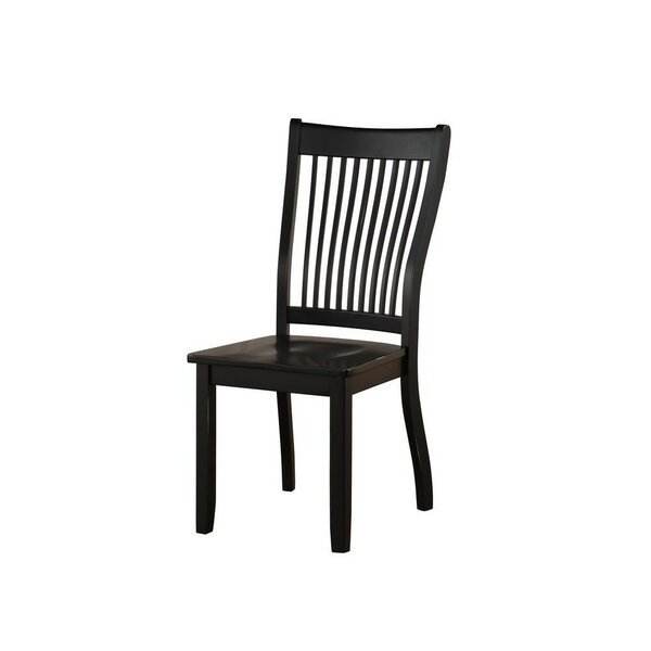 Levy Solid Wood Dining Chair (Set of 2) by August Grove