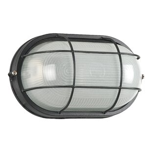 Compare & Buy 1-Light Outdoor Bulkhead Light By Sunset Lighting
