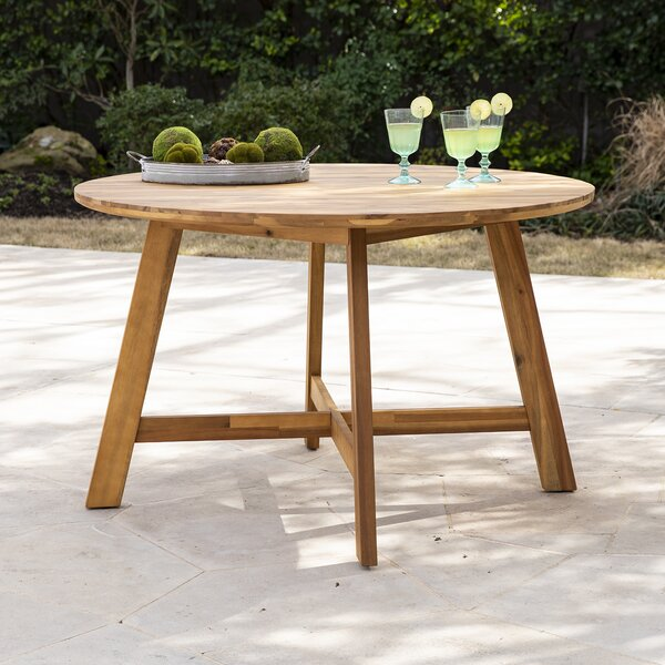 Euphemia Solid Wood Dining Table By Bay Isle Home