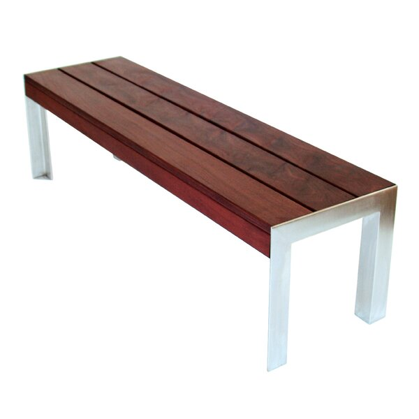 Etra Stainless Steel Picnic Bench by Modern Outdoor