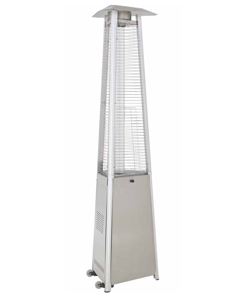 Commercial Glass Tube 38,000 BTU Propane Patio Heater by AZ Patio Heaters