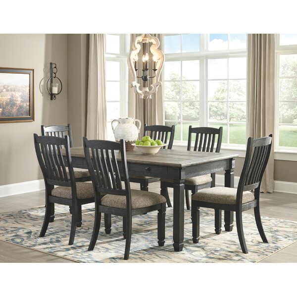 Ventanas 7 Piece Dining Set by Canora Grey