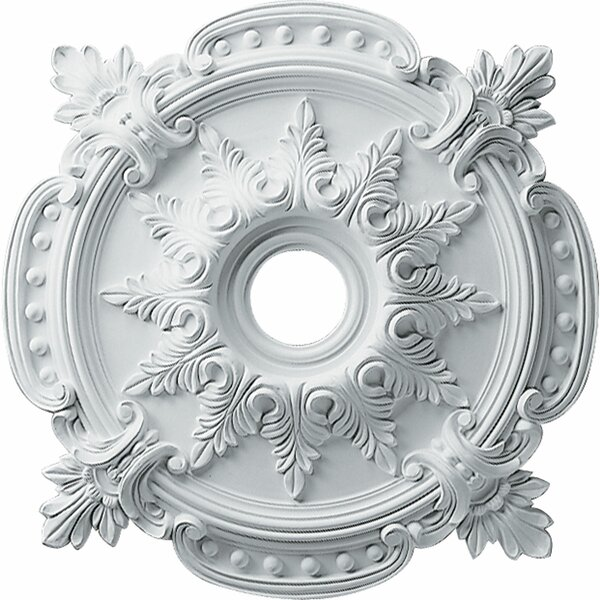 Benson Classic 28 3/8H x 28 3/8W x 1 5/8D Ceiling Medallion by Ekena Millwork