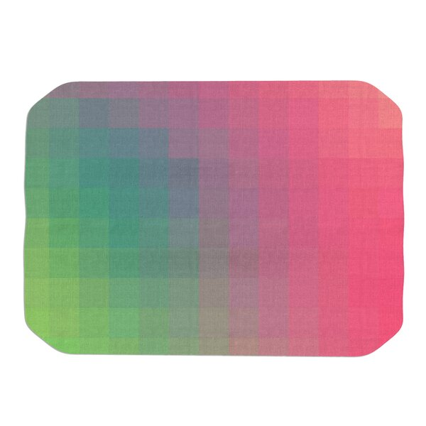 Danny Ivan Gradient Print Placemat by East Urban Home
