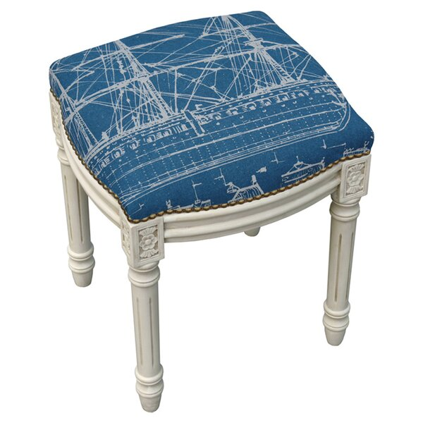 Titanic Accent Stool by 123 Creations