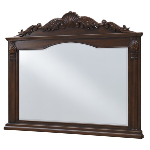 Torrey Rectangle Wall Mirror by Astoria Grand