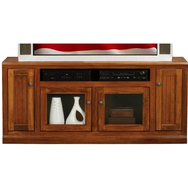 Christina Solid Wood TV Stand For TVs Up To 75
