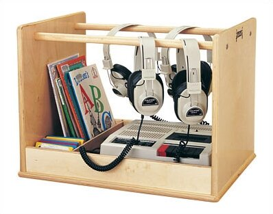 Audio Caddie Multimedia Tabletop Storage by Jonti-Craft