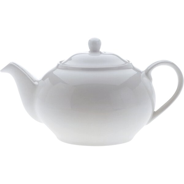 White Basics Teapot by Maxwell & Williams