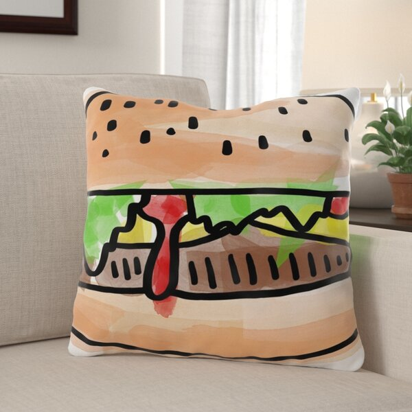 Eckles Food Throw Pillow
