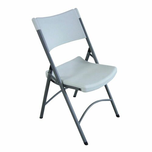 Folding Chair Platinum (Set of 4) by Lorell
