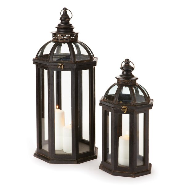 2 Piece Lanterns Set by August Grove