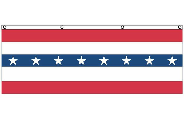 Patriotic Nylon 3 x 5 ft. Flag with Stars by U.S. Flag Store