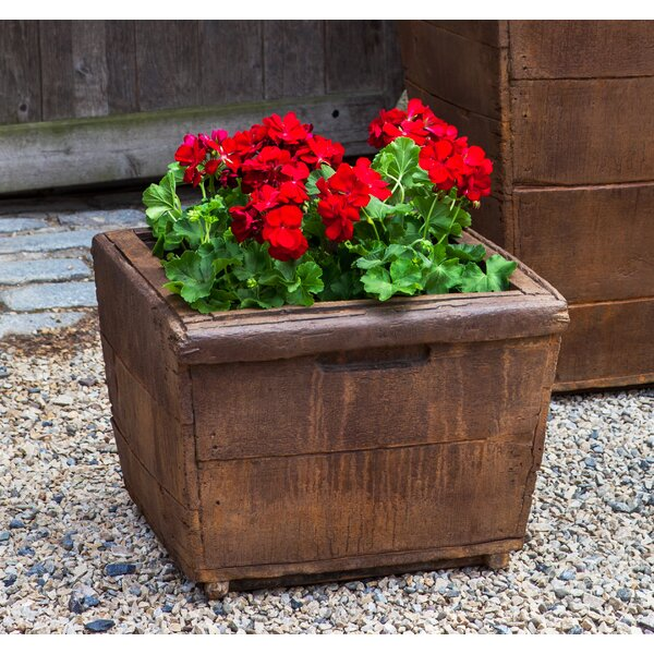 Witwicki Cast Stone Planter Box by Gracie Oaks