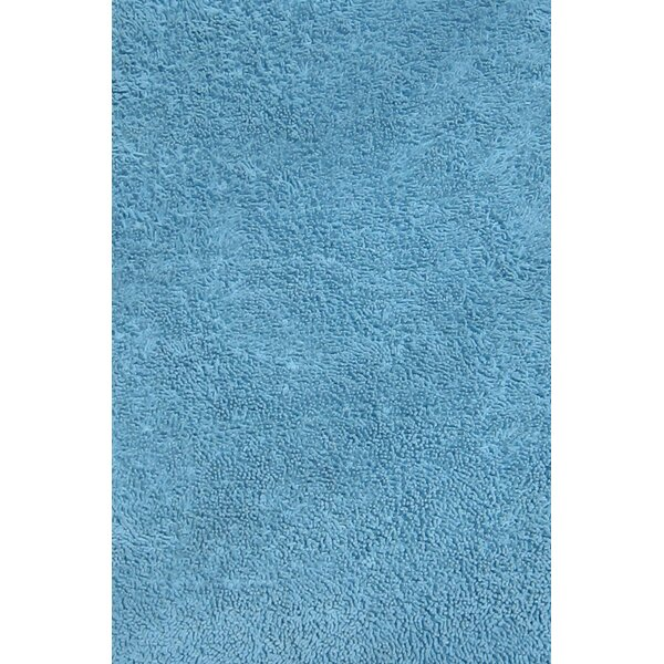 Light Blue Shag Kids Rug by Fun Rugs