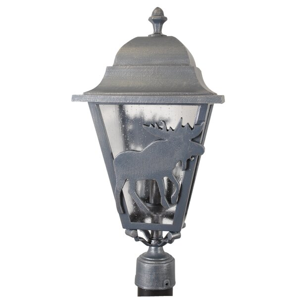 Penfield Moose Series 3 Light 25 Post Lantern by Alcott Hill