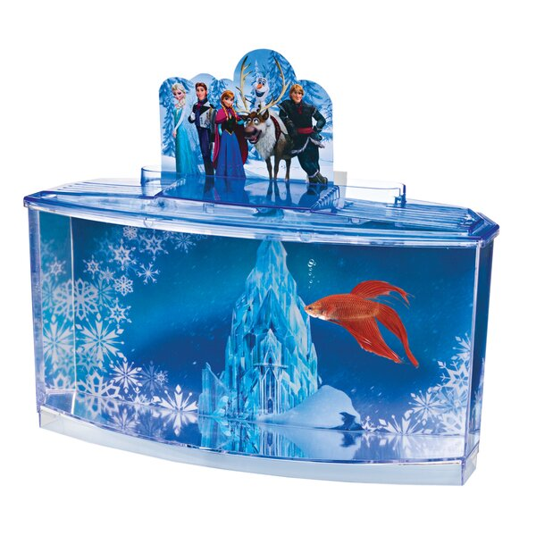 0.7 Gallon Disney® Frozen Betta Aquarium Kit by Penn Plax