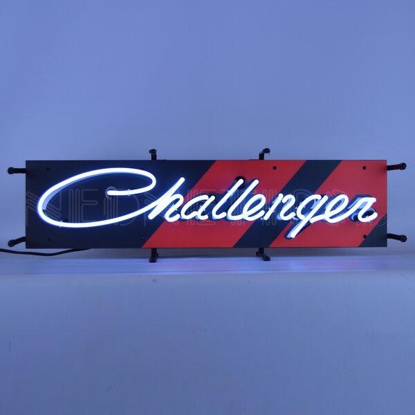 Dodge Challenger Junior Wall Light by Neonetics