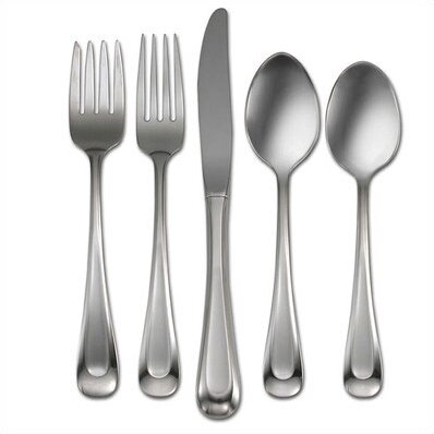 Satin Sand Dune 45 Piece Flatware Set, Service for 8 by Oneida