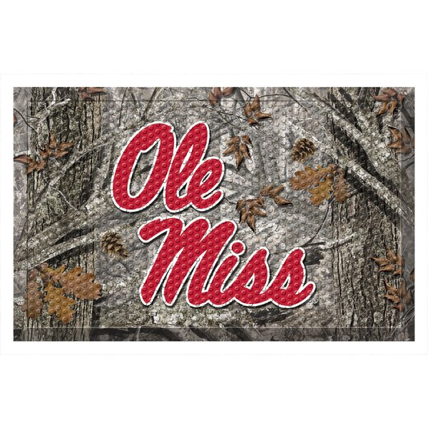 University of Mississippi (Ole Miss) Doormat by FANMATS