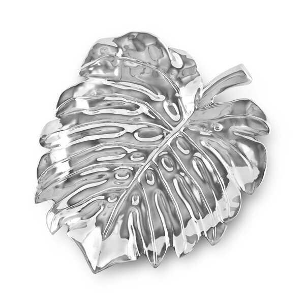 Garden Bali Leaf Platter by Beatriz Ball