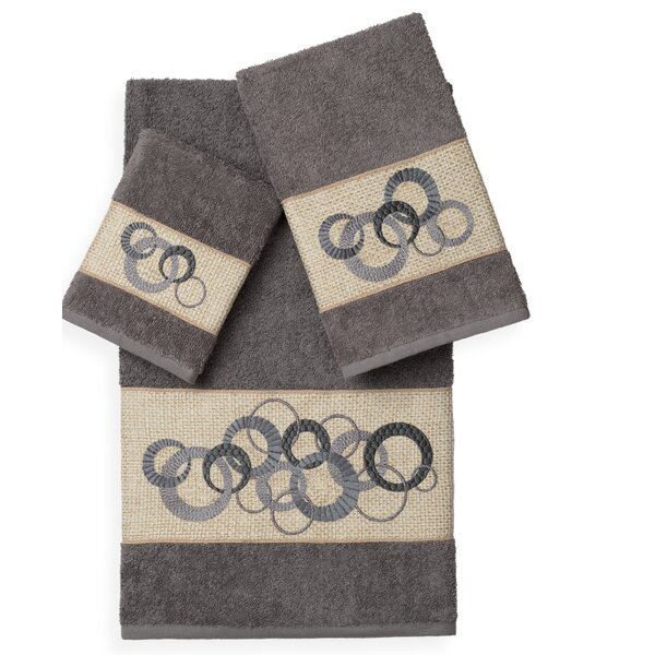 Byblos 3 Piece Turkish Cotton Towel Set by Orren Ellis