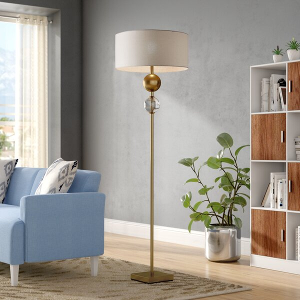 Emiliano 69 Floor Lamp by Langley Street