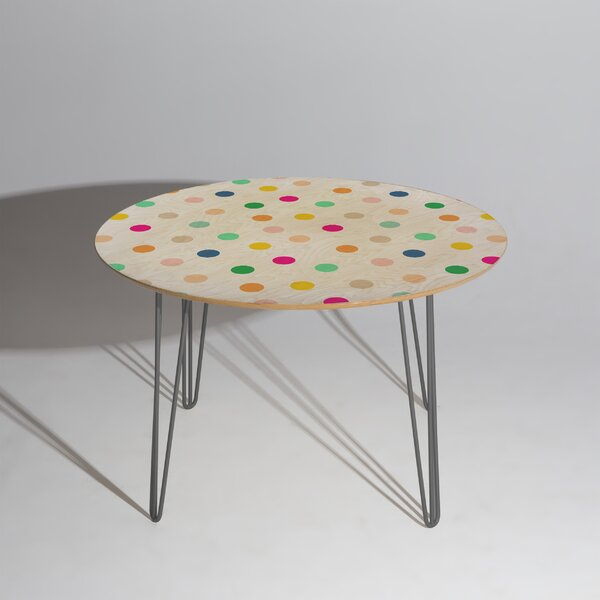 Hello Sayang Spotty Dot Dining Table by East Urban Home