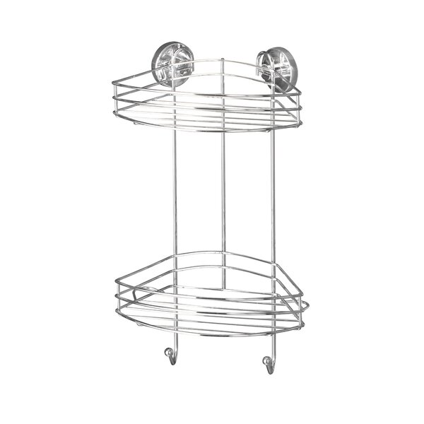 Vacuum-Loc Stainless Steel Shower Caddy by Wenko Inc