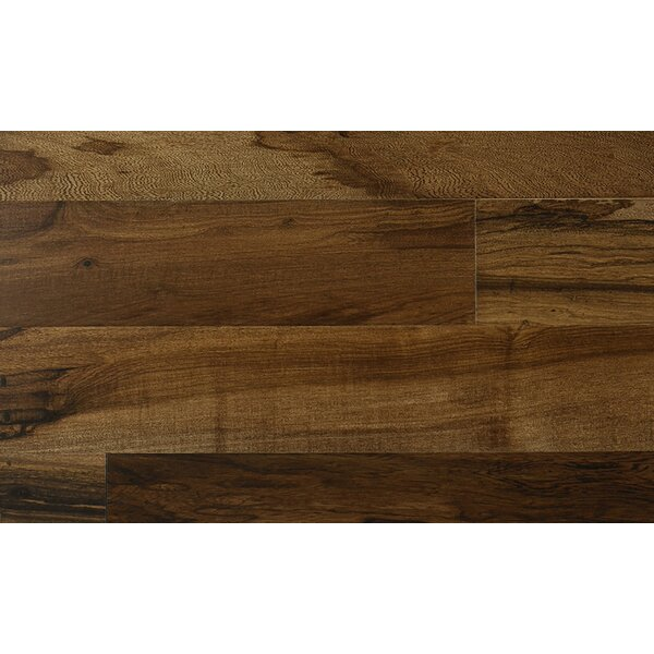 5 Engineered Hickory Hardwood Flooring in Brown by IndusParquet