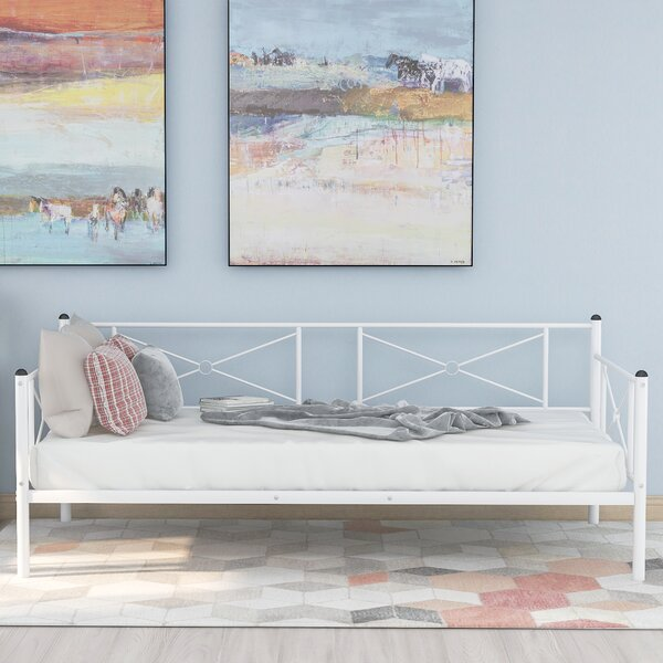 Cadagan Metal Twin Daybed By Winston Porter