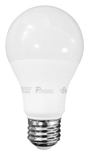 60 W E26 LED Light Bulb Pack of 10 by Pursonic
