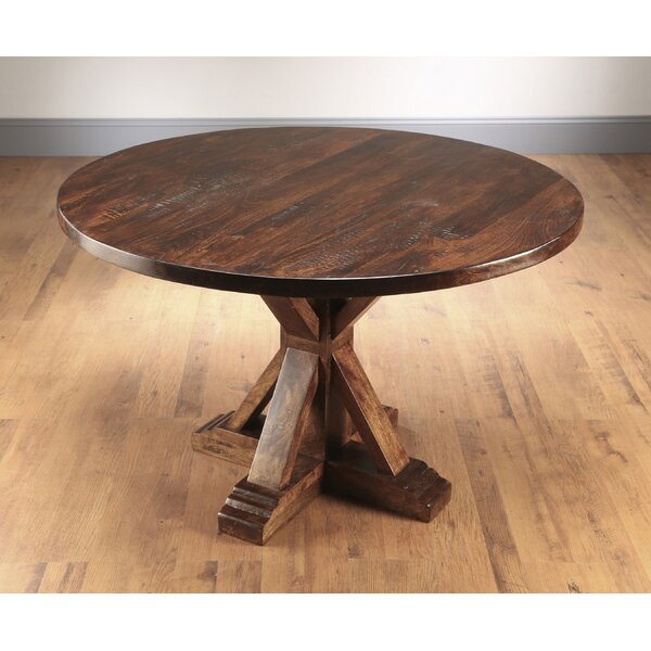 Rebeca Solid Wood Dining Table By Ophelia & Co.
