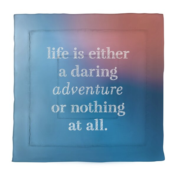 Life Adventure Single ReversibleComforter