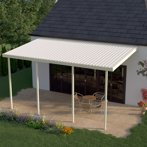 12 ft. W x 12 ft. D Patio Awning by Heritage Patios