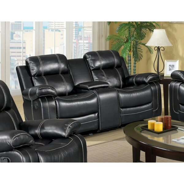 Courter Reclining Loveseat By Winston Porter