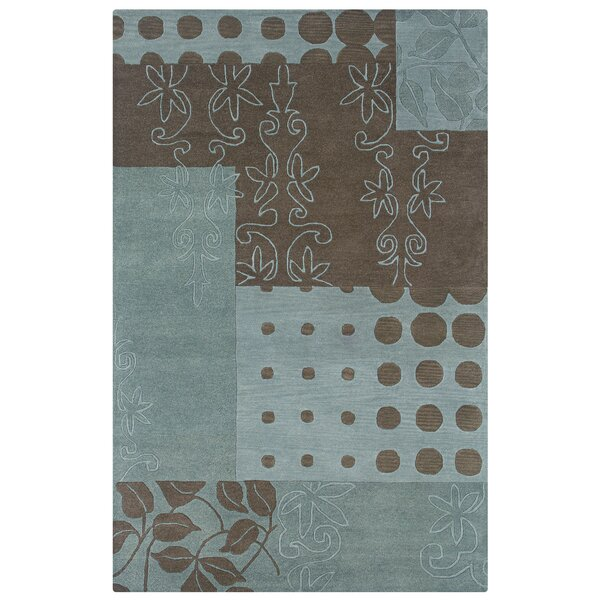 Kasba Hand-Tufted Blue Area Rug by Meridian Rugmakers