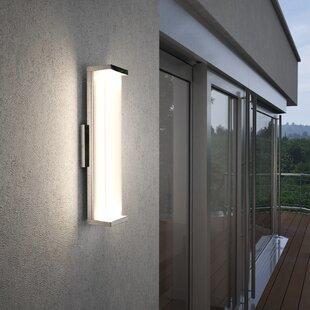 Troas LED Outdoor Sconce By Brayden Studio Outdoor Lighting