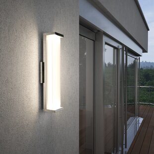 Inexpensive Troas LED Outdoor Sconce By Brayden Studio