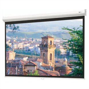 Best Reviews Matte White Manual Projection Screen By Da-Lite
