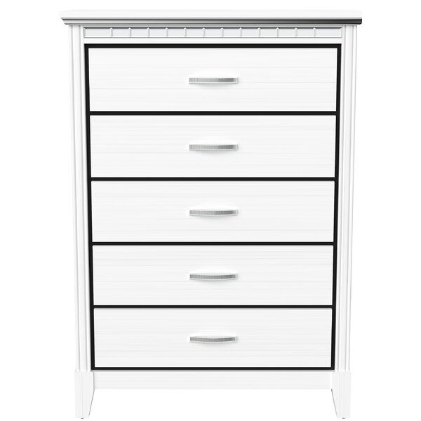 Ellerkamp 5 Drawer Chest by Mercer41